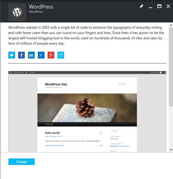 how to create service pack wordpress